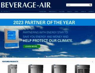 beverage-air.com screenshot