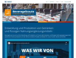 beveragescouts.com screenshot