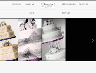 beverleyscreativecakes.co.uk screenshot