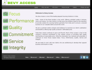 bevyaccess.com screenshot