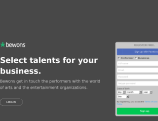 bewons.com screenshot