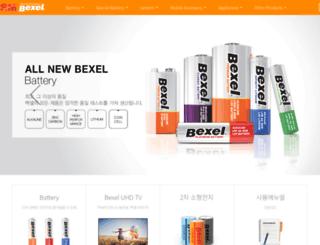 bexel.co.kr screenshot