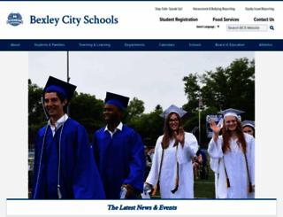 bexleyschools.org screenshot