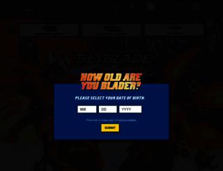 beyblade.com screenshot