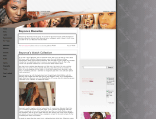beyoncestar.com screenshot