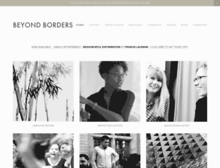beyond-borders.be screenshot