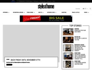 beyond.styleathome.com screenshot
