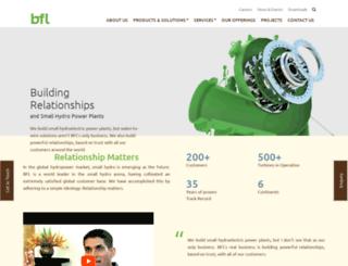 bflhydro.com screenshot