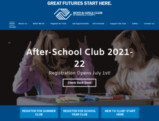 bgcmissoula.org screenshot