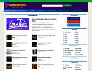 bgmringtones.com screenshot