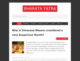 bharatayatra.com screenshot