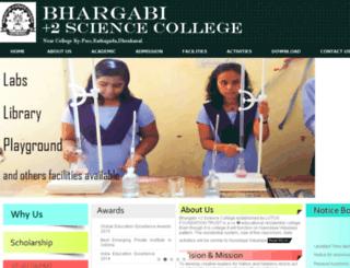 bhargabidkl.in screenshot