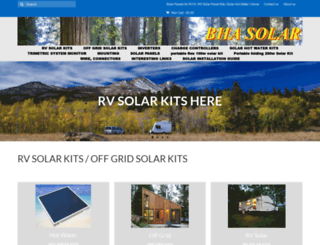bhasolar.com screenshot
