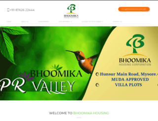 bhoomikahousing.net screenshot