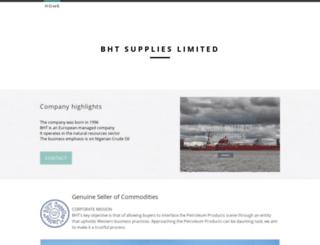 bhtsupplies.com screenshot