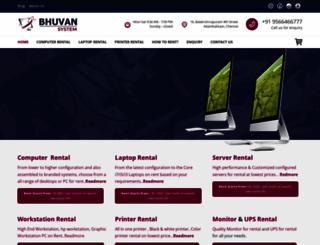 bhuvansystem.com screenshot