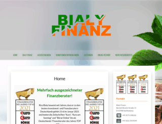 bialy-finanz.de screenshot