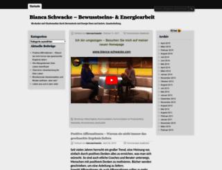 biancaschwacke.wordpress.com screenshot