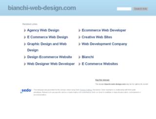 bianchi-web-design.com screenshot