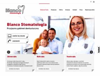 bianco-stomatologia.pl screenshot