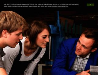 bibb.de screenshot