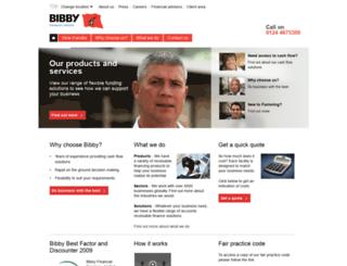 bibbyfinancialservices.in screenshot