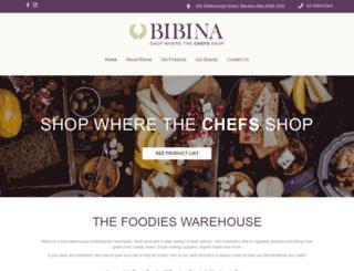 bibina.com.au screenshot