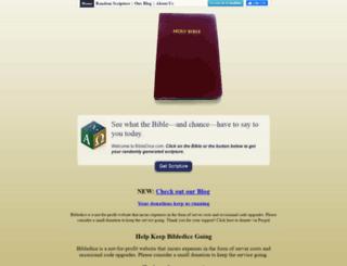 bibledice.com screenshot