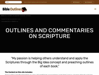 bibleoutlines.com screenshot