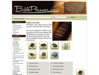 bibleplanner.com screenshot