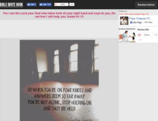 biblequotebook.com screenshot