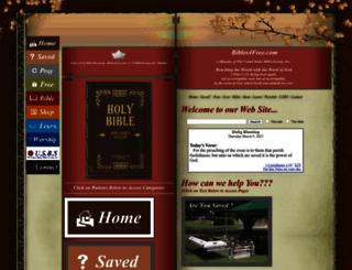 bibles4free.com screenshot