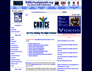 biblestudyguide.org screenshot