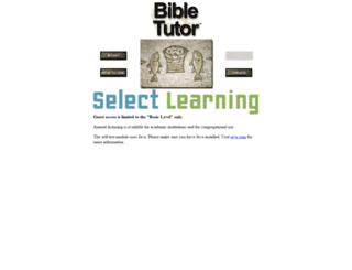 bibletutor.com screenshot