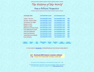 bibleworldhistory.com screenshot