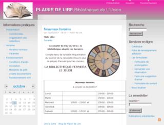 biblio-plaisirdelire.fr screenshot