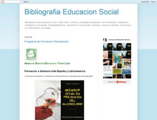 bibliografiaeducacionsocial.blogspot.com screenshot
