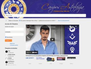 biblioteca-astrologia.es screenshot