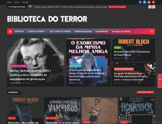 bibliotecadoterror.blogspot.com screenshot