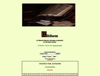 biblisem.net screenshot