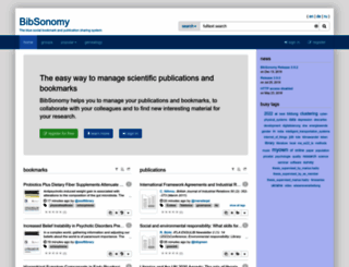 bibsonomy.org screenshot