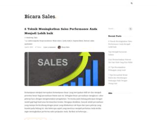 bicarasales.com screenshot