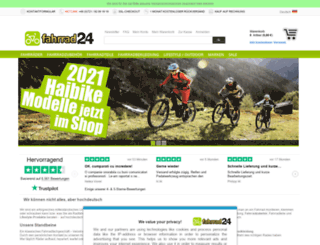bici24.es screenshot