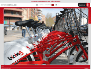 bicing.com screenshot