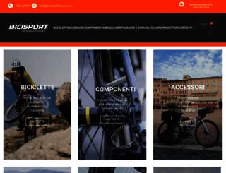 bicisportfabriano.com screenshot