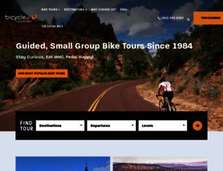 bicycleadventures.com screenshot