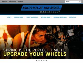 bicyclewheelwarehouse.com screenshot