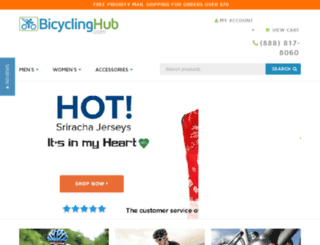 bicyclinghub.com screenshot