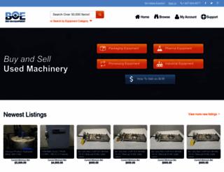 bid-on-equipment.com screenshot