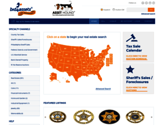 bid4assets.com screenshot